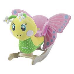 Rockabye Critters Flutter Butterfly Rocker