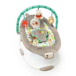 Bright Starts Disney Baby Bouncer Seat - Winnie the Pooh Dot