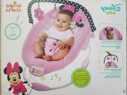 Bright Starts Disney Baby Minnie Mouse Bouncer Seat Blushing