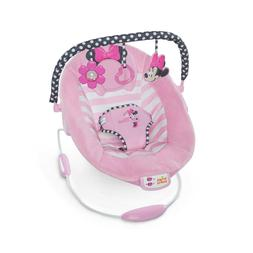 Disney Baby Minnie Mouse Bouncer Seat - Blushing Bows, Cradl