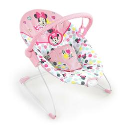 Bright Starts Disney Baby Minnie Mouse Vibrating Bouncer wit