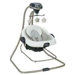 Graco Duet Connect LX Baby 2 Speed Settings Swing and Baby B