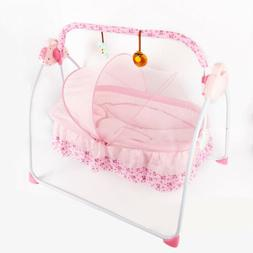 Electric Baby Rockers and Bouncer Automatic Cradle Bed Bluet