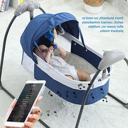 Electric Remote Baby Bouncer Auto-Swing Chair Cradle Rocker