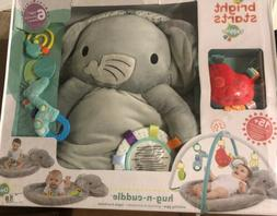 Bright Starts Enchanted Elephants Activity Gym Ultra Soft Bo