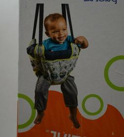 ExerSaucer Infant Doorway Jumper Secure owl Portable Door Ba