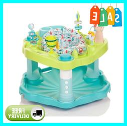 exersaucer mega seaside splash unique rocking base