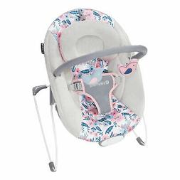 Baby Trend EZ Baby Bouncer with 2 Hanging Toys and Calming V