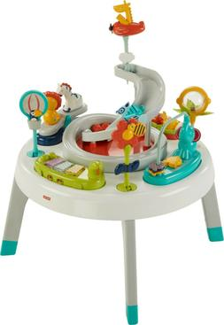 Fisher Price 2-in-1 Sit-to-Stand Activity Center Spin 'n Pla