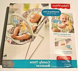 fisher price baby bouncer luminosity portable comfortable