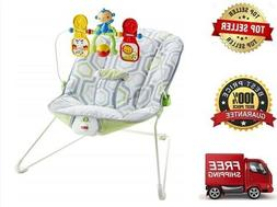 FISHER-PRICE BABY'S BOUNCER GEO MEADOW- FREESHIP