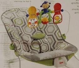 FISHER-PRICE BABY'S BOUNCER GEO MEADOW -  OPEN BOX