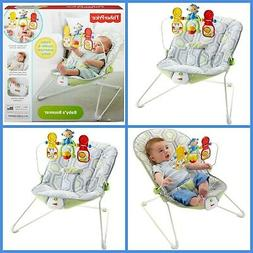 Fisher-Price Bouncer  with Removable Toy Bar Baby Infant Tod