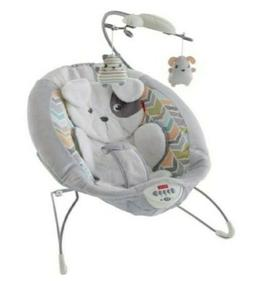 Fisher-Price My Little Snugapuppy Deluxe Bouncer with Mobile