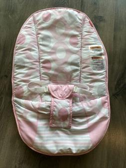 Fisher Price Pink Ellipse Baby's Bouncer - Seat Cover Cush