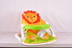 Fisher-Price Sit Me Up Floor Seat Tray Portable Infant Seat