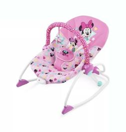 Disney, Baby Girls Minnie Mouse Stars & Smiles Infant To Tod