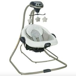 Graco Duet Connect LX Baby Swing & Bouncer Manor Collection