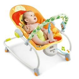 Home Electric Rocker Baby Swing Infant Portable Cradle Bounc