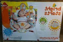 Bright Starts Home Playful Pinwheels Baby Infant Bouncer Vib