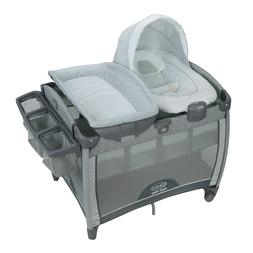 Pack 'n Play Quick Connect Playard with Portable Bouncer, Al