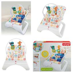 Infant to Toddler Baby Bouncer Rocker Swing Portable Child R