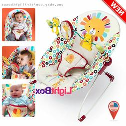 Bouncer Seat Baby Chair Sleeper Rotating-Toys Vibration Play