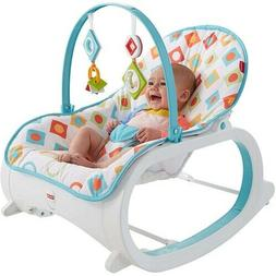 Infant Toddler Rocker Baby Swing Bouncer Portable Rocking Se