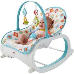 Infant Toddler Rocker Baby Swing Bouncer Portable Rocking Se