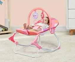 Infant Toddler Rocker Baby Swing Bouncer Portable Seat Rocki