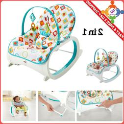 Infant Toddler Rocker Baby Swing Bouncer Portable Child Rock