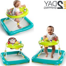 Infant Walker Music Adjustable Fold Up Activity Assistant To