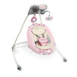 Ingenuity InLighten Baby Cradling Swing Cradle Seat Bouncer