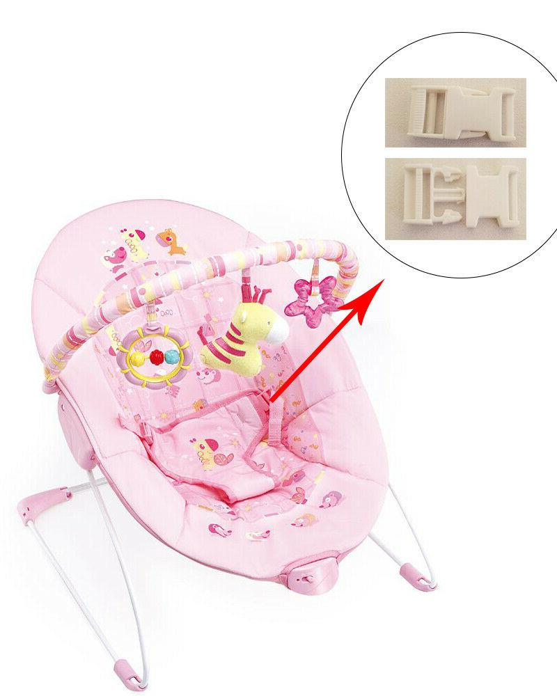 1 white harness seat clip for cute