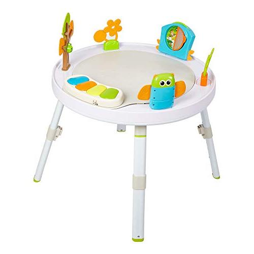 Dporticus 3-Stage Jump Entertainers Center Playful Multi-Function Toys and Music, More Baby's
