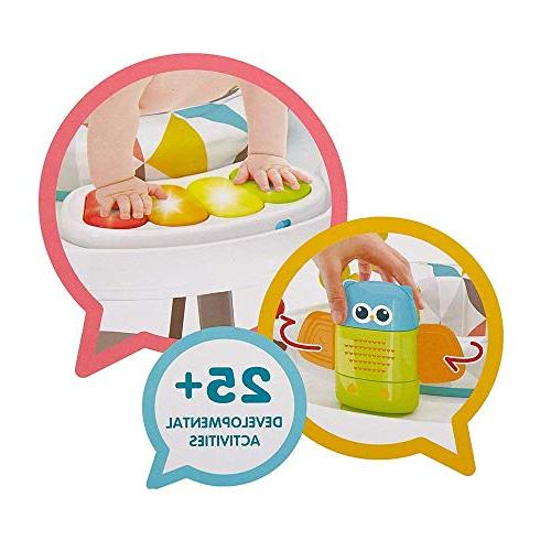 Dporticus Baby 3-Stage Entertainers Activity Multi-Function More Baby's