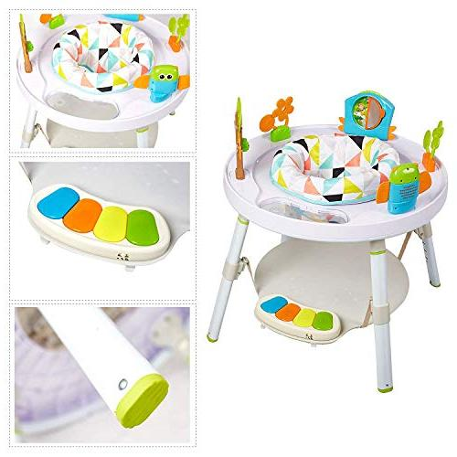 Dporticus Baby Entertainers Activity Center Multi-Function Jump&Rocking Chair Toys and More Baby's View