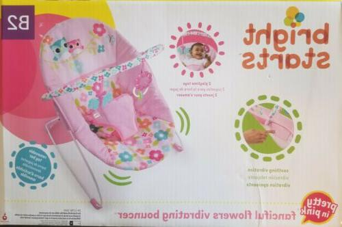 60135 2 w11 sundial baby bouncer pink