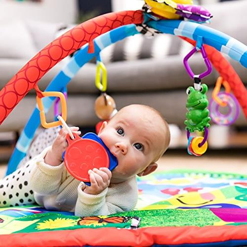 Baby Einstein Caterpillar Friends Play Gym Lights Melodies, Newborn +