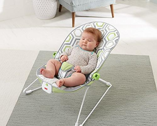 Fisher-Price Baby's Bouncer, Meadow,