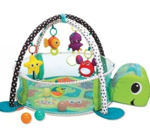 Infantino 3-in-1 me Gym and Ball Pit