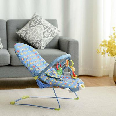 Adjustable Baby Swing Rocker Chair W/ Soothing