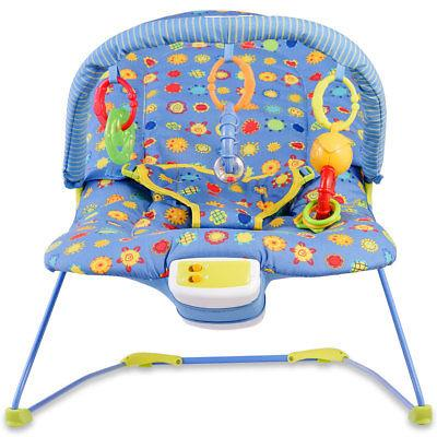 Adjustable Baby Rocker W/ Soothing Toys