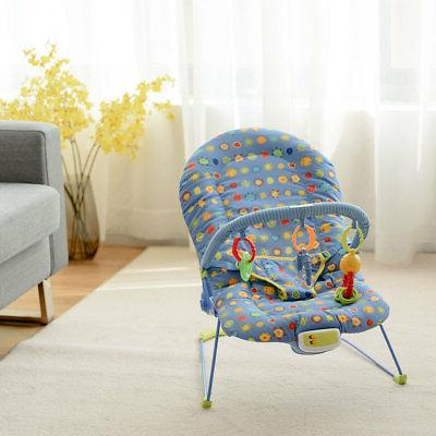 adjustable baby bouncer swing rocker reclining chair