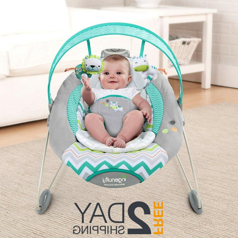 automatic baby bouncer swing chair battery newborn