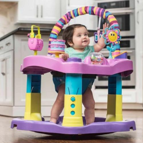 Baby Bouncer Activity Exersaucer Evenflo and Learn Toy Interactive