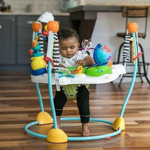 Baby Bouncer Activity Center Jumper 360 Rotating Seat Play T
