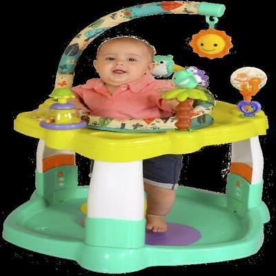 Baby Jumper with Rotating Seat Play Toy Bar