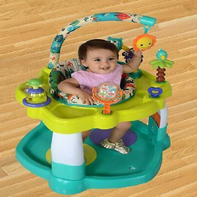 Baby Jumper with 360 Rotating Seat Toy Bar