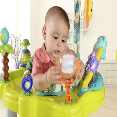 Baby Activity Center Jumper with 360 Degree Rotating Seat Play Bar